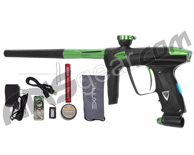 DLX Luxe 2.0 OLED Paintball Gun - Dust Black/Slime Green