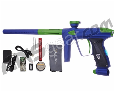DLX Luxe 2.0 OLED Paintball Gun - Dust Blue/Dust Slime Green