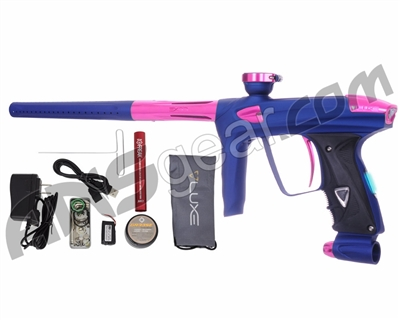 DLX Luxe 2.0 OLED Paintball Gun - Dust Blue/Pink