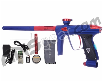 DLX Luxe 2.0 OLED Paintball Gun - Dust Blue/Red