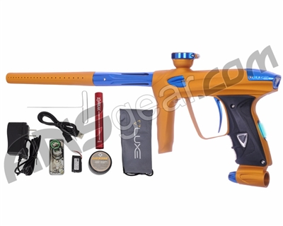 DLX Luxe 2.0 OLED Paintball Gun - Dust Gold/Blue