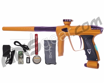 DLX Luxe 2.0 OLED Paintball Gun - Dust Gold/Eggplant