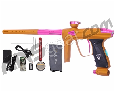 DLX Luxe 2.0 OLED Paintball Gun - Dust Gold/Pink