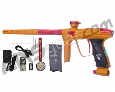 DLX Luxe 2.0 OLED Paintball Gun - Dust Gold/Red