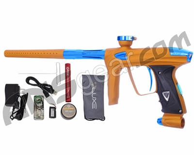 DLX Luxe 2.0 OLED Paintball Gun - Dust Gold/Teal