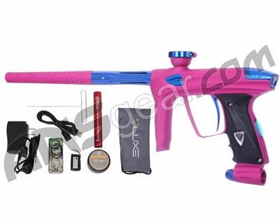 DLX Luxe 2.0 OLED Paintball Gun - Dust Pink/Blue