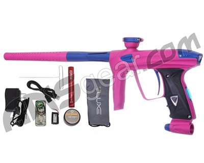 DLX Luxe 2.0 OLED Paintball Gun - Dust Pink/Dust Blue