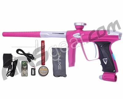 DLX Luxe 2.0 OLED Paintball Gun - Dust Pink/Dust White
