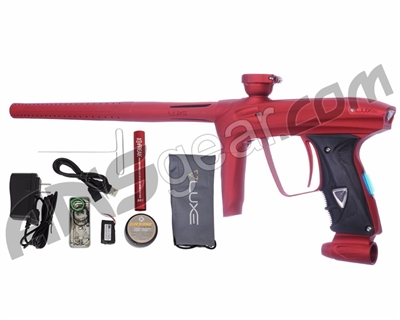 DLX Luxe 2.0 OLED Paintball Gun - Dust Red/Dust Red