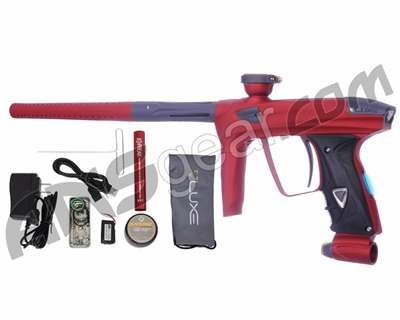 DLX Luxe 2.0 OLED Paintball Gun - Dust Red/Dust Titanium