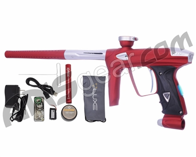 DLX Luxe 2.0 OLED Paintball Gun - Dust Red/Dust White