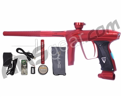 DLX Luxe 2.0 OLED Paintball Gun - Dust Red/Red