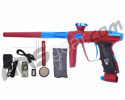 DLX Luxe 2.0 OLED Paintball Gun - Dust Red/Teal