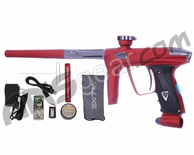 DLX Luxe 2.0 OLED Paintball Gun - Dust Red/Titanium