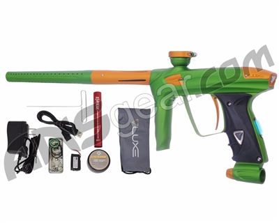 DLX Luxe 2.0 OLED Paintball Gun - Dust Slime Green/Dust Gold