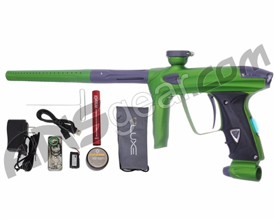 DLX Luxe 2.0 OLED Paintball Gun - Dust Slime Green/Dust Titanium