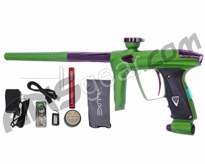 DLX Luxe 2.0 OLED Paintball Gun - Dust Slime Green/Eggplant
