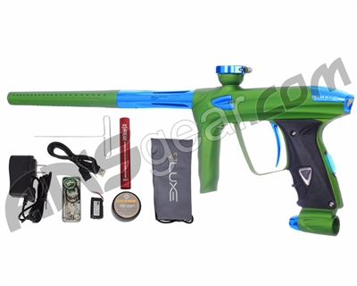 DLX Luxe 2.0 OLED Paintball Gun - Dust Slime Green/Teal