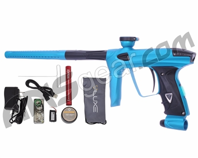 DLX Luxe 2.0 OLED Paintball Gun - Dust Teal/Dust Black