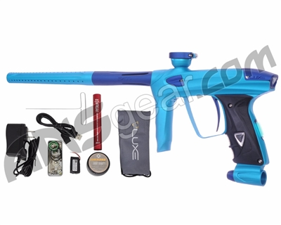 DLX Luxe 2.0 OLED Paintball Gun - Dust Teal/Dust Blue
