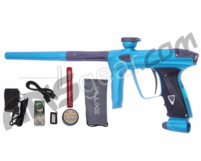 DLX Luxe 2.0 OLED Paintball Gun - Dust Teal/Dust Titanium