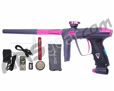 DLX Luxe 2.0 OLED Paintball Gun - Dust Titanium/Pink