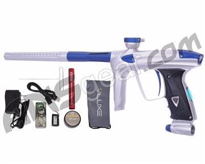 DLX Luxe 2.0 OLED Paintball Gun - Dust White/Dust Blue