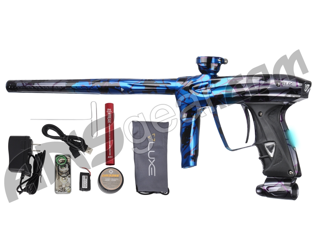 DLX Luxe 2.0 OLED Paintball Gun - Electric Storm