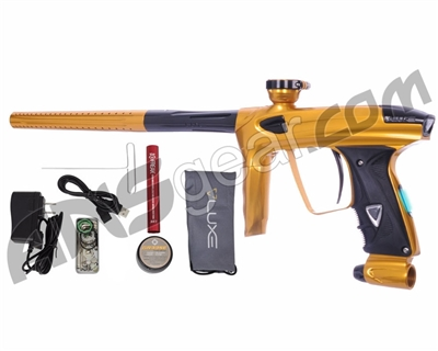 DLX Luxe 2.0 OLED Paintball Gun - Gold/Black