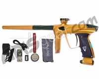 DLX Luxe 2.0 OLED Paintball Gun - Gold/British Racing Green