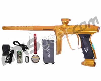 DLX Luxe 2.0 OLED Paintball Gun - Gold/Dust Gold