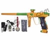DLX Luxe 2.0 OLED Paintball Gun - Gold/Dust Slime Green