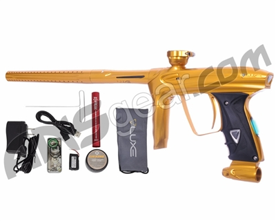 DLX Luxe 2.0 OLED Paintball Gun - Gold/Gold