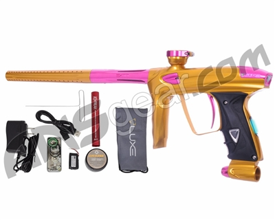 DLX Luxe 2.0 OLED Paintball Gun - Gold/Pink