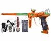 DLX Luxe 2.0 OLED Paintball Gun - Orange/Slime Green