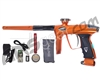 DLX Luxe 2.0 OLED Paintball Gun - Orange/Charcoal