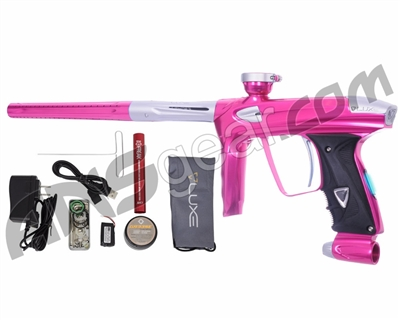 DLX Luxe 2.0 OLED Paintball Gun - Pink/Dust White