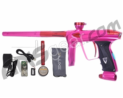DLX Luxe 2.0 OLED Paintball Gun - Pink/Red