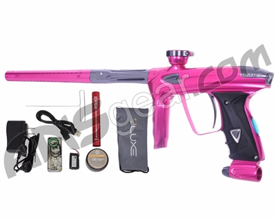 DLX Luxe 2.0 OLED Paintball Gun - Pink/Titanium