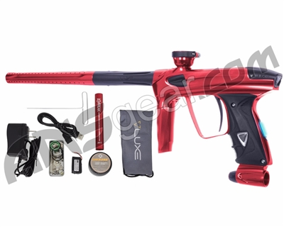DLX Luxe 2.0 OLED Paintball Gun - Red/Dust Black