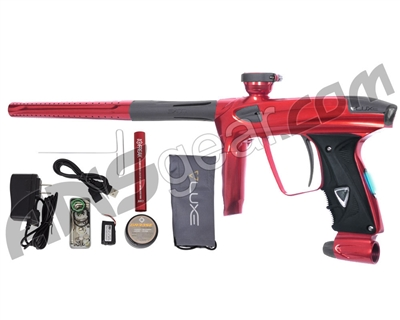 DLX Luxe 2.0 OLED Paintball Gun - Red/Dust Charcoal
