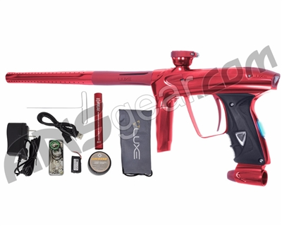 DLX Luxe 2.0 OLED Paintball Gun - Red/Dust Red