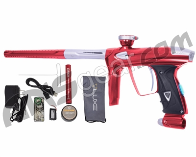DLX Luxe 2.0 OLED Paintball Gun - Red/Dust White