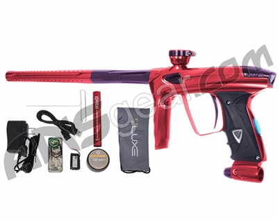 DLX Luxe 2.0 OLED Paintball Gun - Red/Eggplant