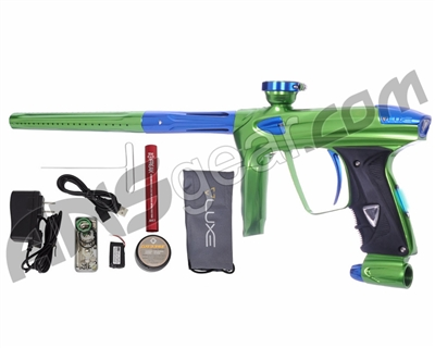 DLX Luxe 2.0 OLED Paintball Gun - Slime Green/Blue