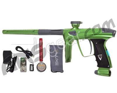 DLX Luxe 2.0 OLED Paintball Gun - Slime Green/Dust Charcoal