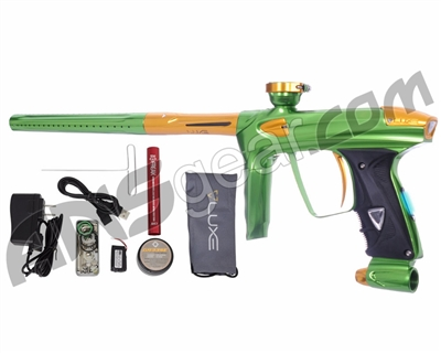 DLX Luxe 2.0 OLED Paintball Gun - Slime Green/Gold