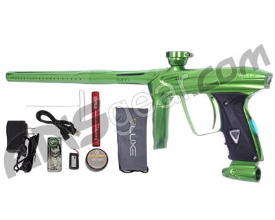 DLX Luxe 2.0 OLED Paintball Gun - Slime Green/Slime Green