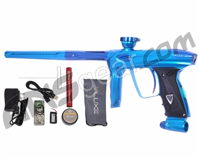 DLX Luxe 2.0 OLED Paintball Gun - Teal/Blue