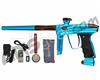 DLX Luxe 2.0 OLED Paintball Gun - Teal/Brown